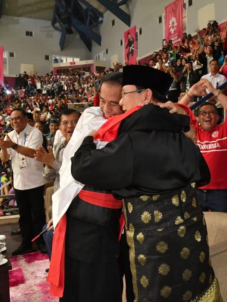Jokowi-Prabowo Pelukan, Cak Imin: Luar Biasa Menyejukkan