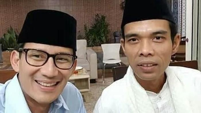 Sandiaga Uno dan Ustaz Abdul Somad (Foto: dok. Istimewa)