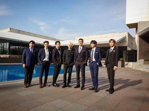 Member Super Junior Bertebaran di Jakarta, Netizen Heboh
