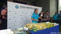 BNN Ajak Malaysia Ungkap Penyelundupan 10 Kg Sabu Blue Ice di Kalbar