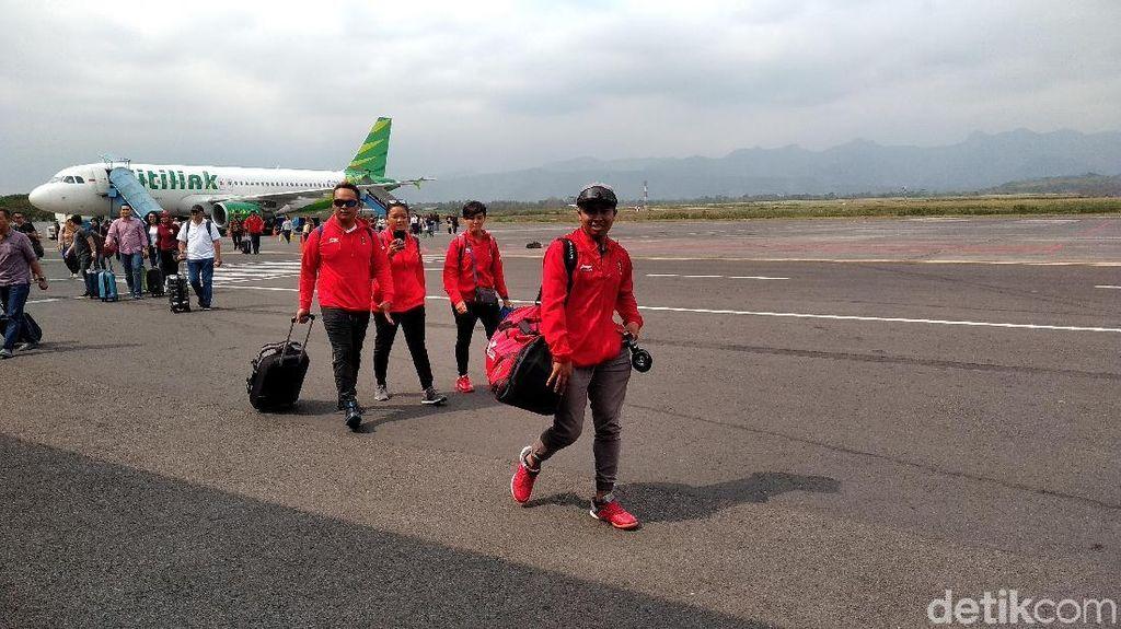 Raih Emas Asian Games, Jafro dkk Disambut di Malang