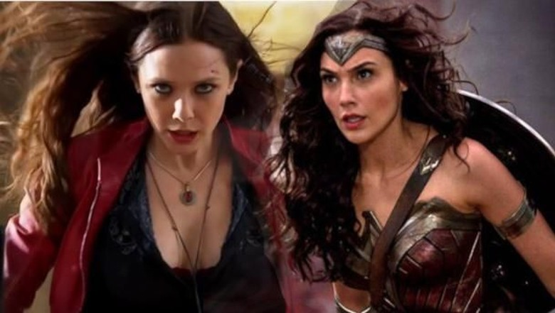 Scarlet Witch dan Wonder Woman Foto: dok imdb