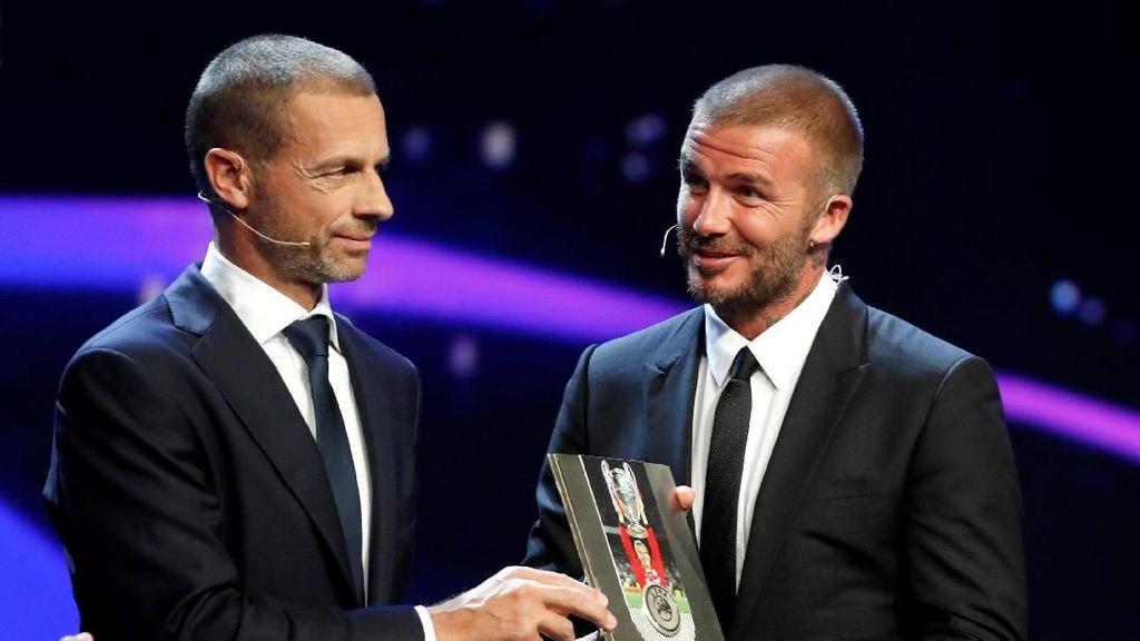 Beckham Dianugerahi Penghargaan Spesial UEFA