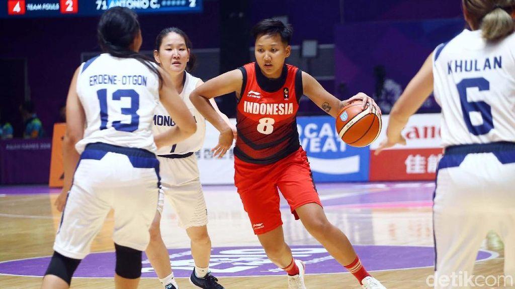 Kalahkan Mongolia, Basket Putri Indonesia Bertengger di Peringkat 7