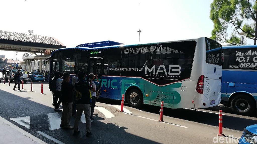 Bus Listrik Anak Bangsa Masih Diuji Coba Agar Bisa Laik Jalan