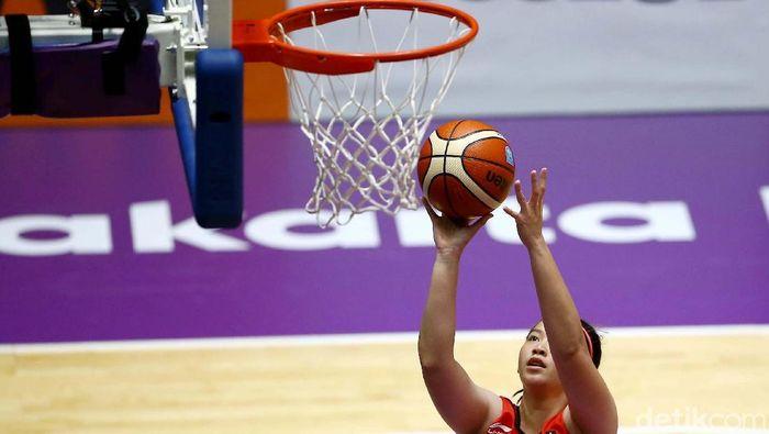 Timnas Basket Putri akan tanding di Taiwan bulan Oktober mendatang. (Foto: Grandyos Zafna)