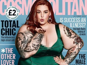 Tess Holliday, Model Plus Size Pertama yang Tampil di Sampul Cosmopolitan