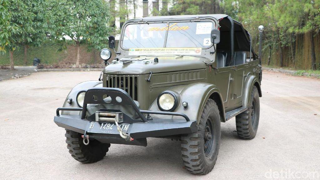 Mobil Militer Rusia Tahan Banting