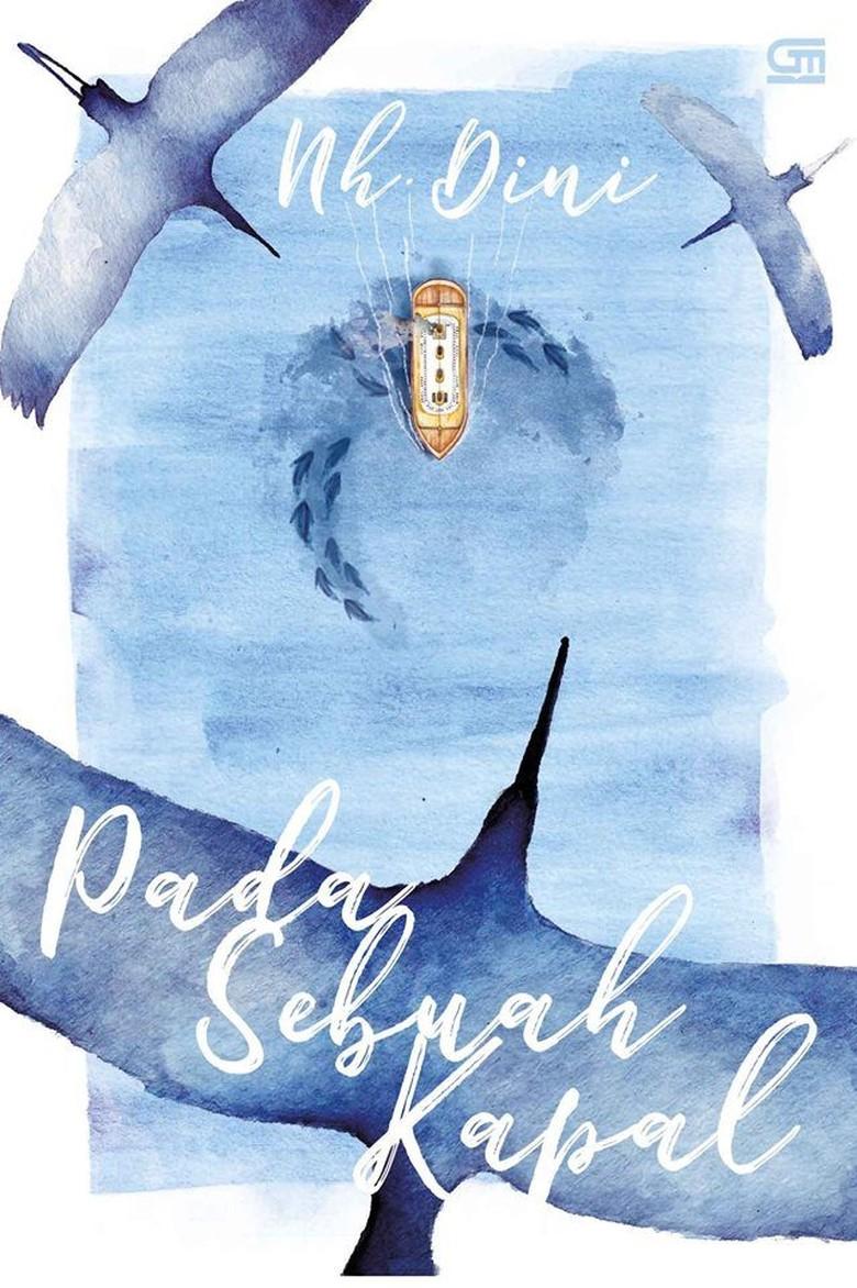 Novel Pada Sebuah Kapal Nh. Dini Cetak Ulang