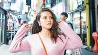 Di Asia, Marsha juga pernah liburan ke Korea Selatan. Di foto ini Marsha tampak begtu dewasa (@aruanmarsha/Instagram)