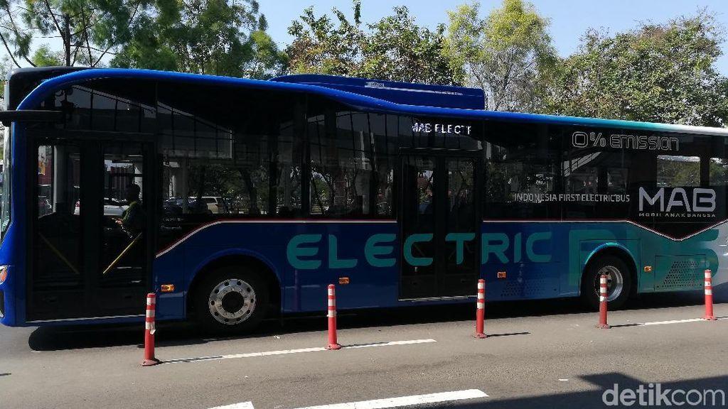 Intip Spek Bus Listrik yang Antar Atlet Asian Games di Soetta