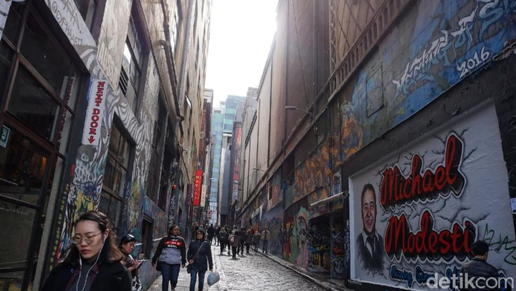 Melihat Gang Paling Berseni di Kota Melbourne