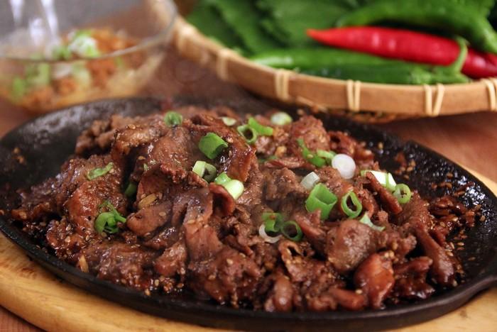 Bulgogi Makanan Korea seperti Sei Sapi