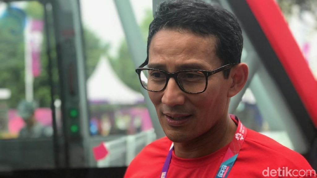 Sandiaga Tepis Kabar OK OCE Mart Kalibata Tutup