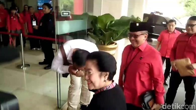 Megawati hingga Maruf Amin Hadiri Rakornas PDIP