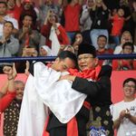 Pesan Hanifan, Pesilat Pemeluk Jokowi-Prabowo: Indonesia Damai dan Waspada Hoax