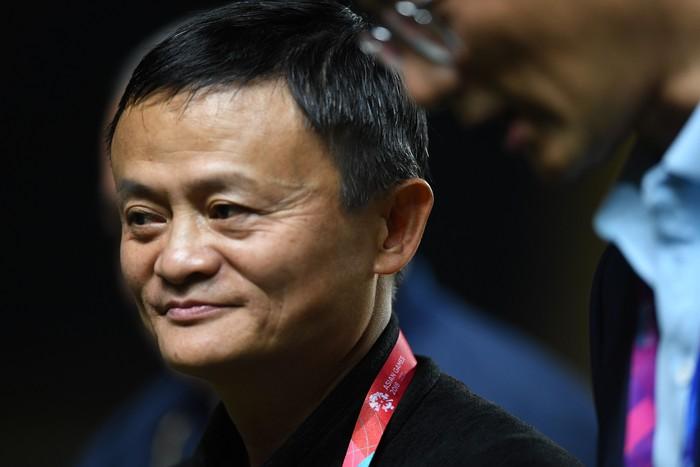 Jack Ma. Foto: Zabur Karuru/Antara Foto/INASGOC