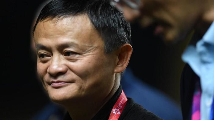 Jack Ma pensiun. Foto: Zabur Karuru/ANTARA FOTO/INASGOC