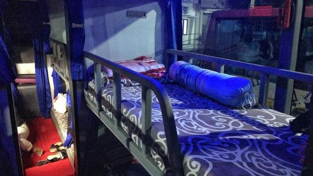 Asyiknya Naik Sleeper Bus Rute Makassar ke Toraja