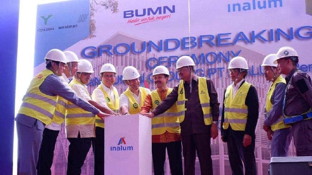 Inalum Bangun Gedung Berkonsep Green and Smart Building di Sumut