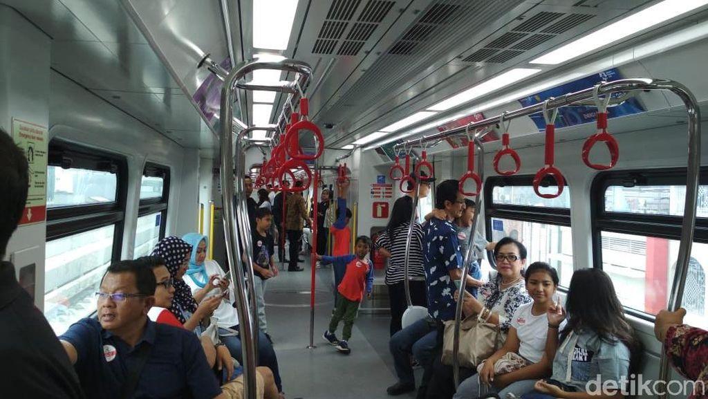 Naik LRT Jakarta Gratis Sampai 20 September