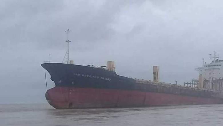 Jejak Kapal Hantu Berbendera Indonesia Hingga Terdampar di Myanmar