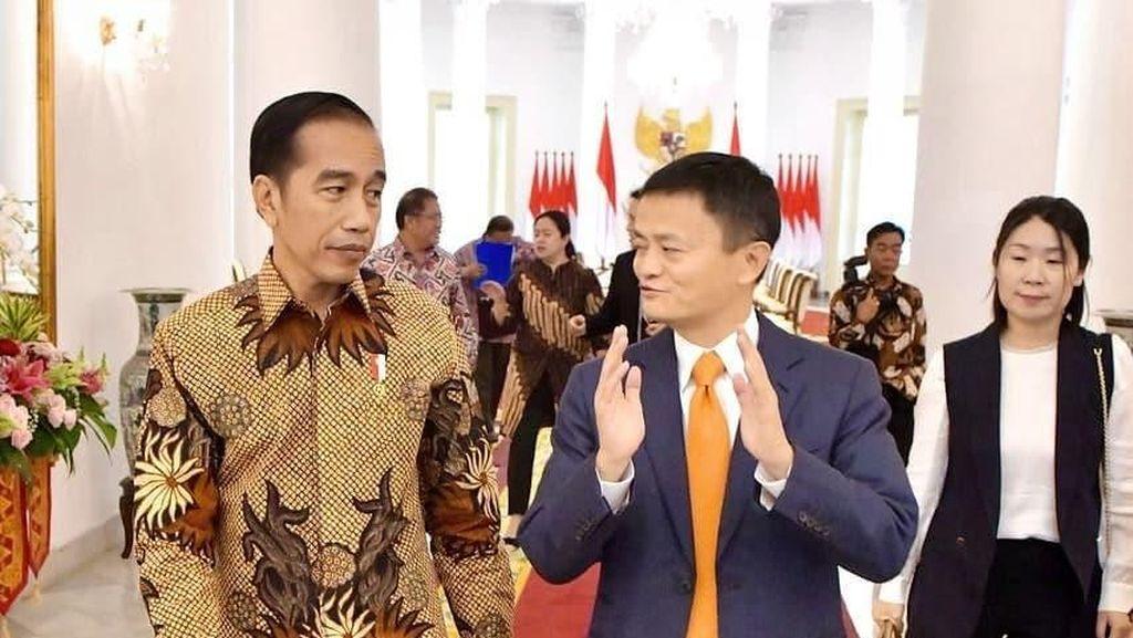 Jokowi Menanti Aksi Jack Ma di Closing Ceremony Asian Games 2018