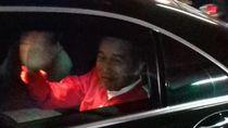 Hanya 40 Menit, Jokowi Tinggalkan Lokasi Rakornas PDIP