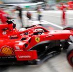 Vettel Ungguli Hamilton dalam Latihan Ketiga GP Italia