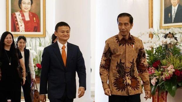 Saat Jack bertemu Presiden Jokowi di Istana Bogor