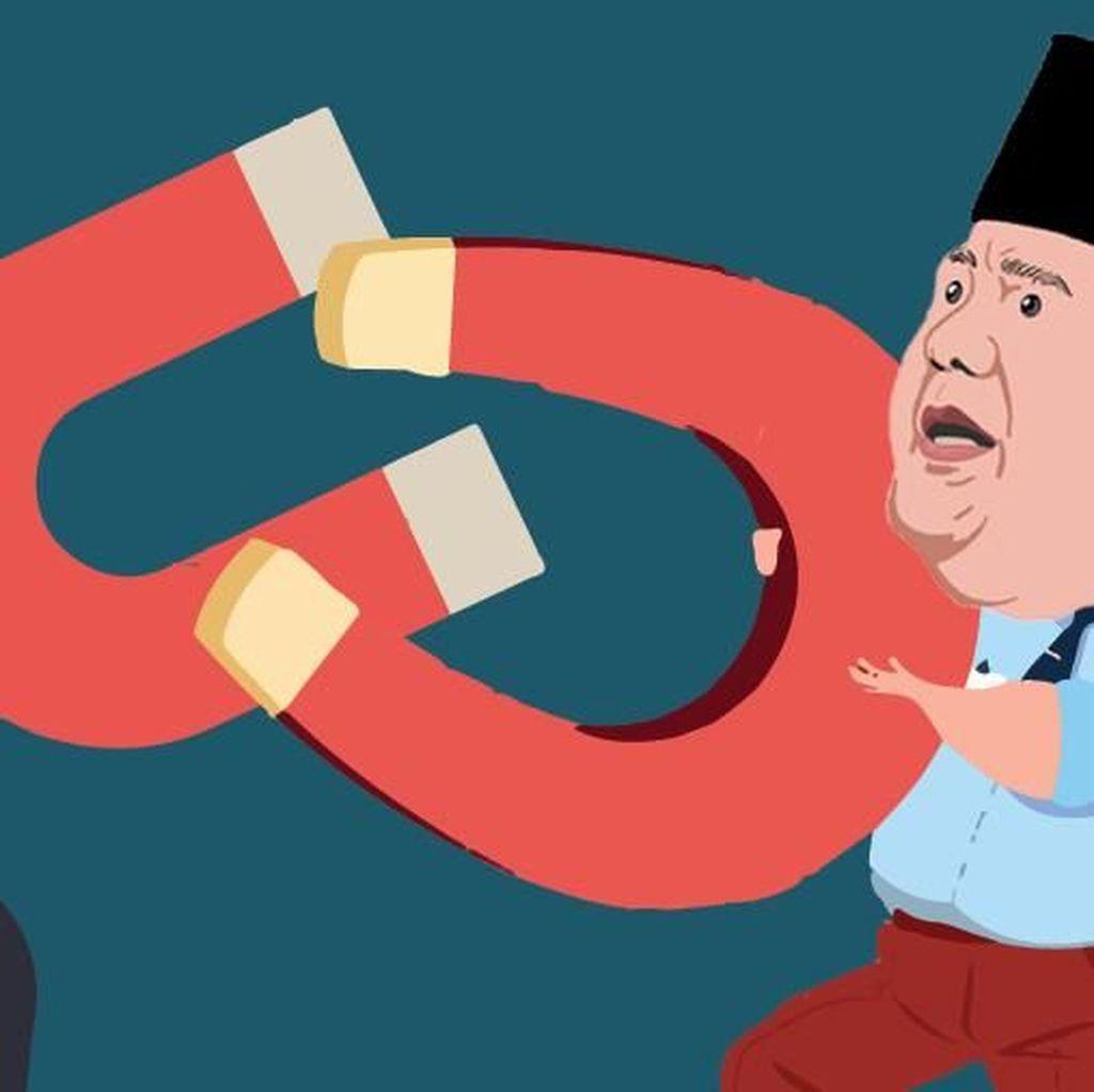 Survei LSI: Elektabilitas Prabowo-Sandiaga Turun Pasca Reuni 212