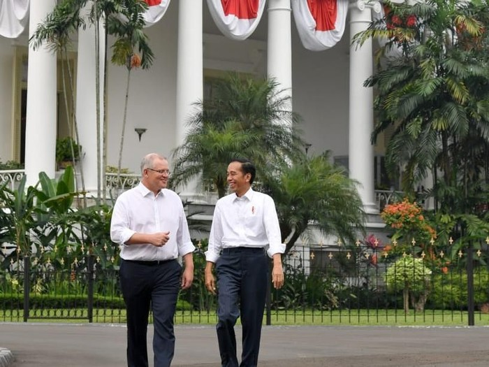 Foto: Potret Keakraban Jokowi-PM Australia di Bogor (dok. Biro Setpres)