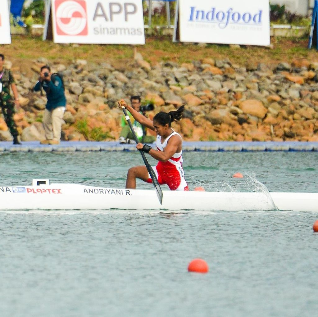 Atlet Kano Riska Andriyani Sumbang Medali Perak