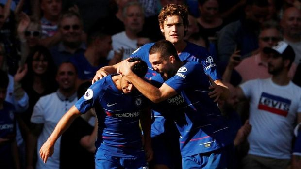 Chelsea akan melanjutkan filosofi permainan Sarri-ball arahan Maurizio Sarri pekan ini. (