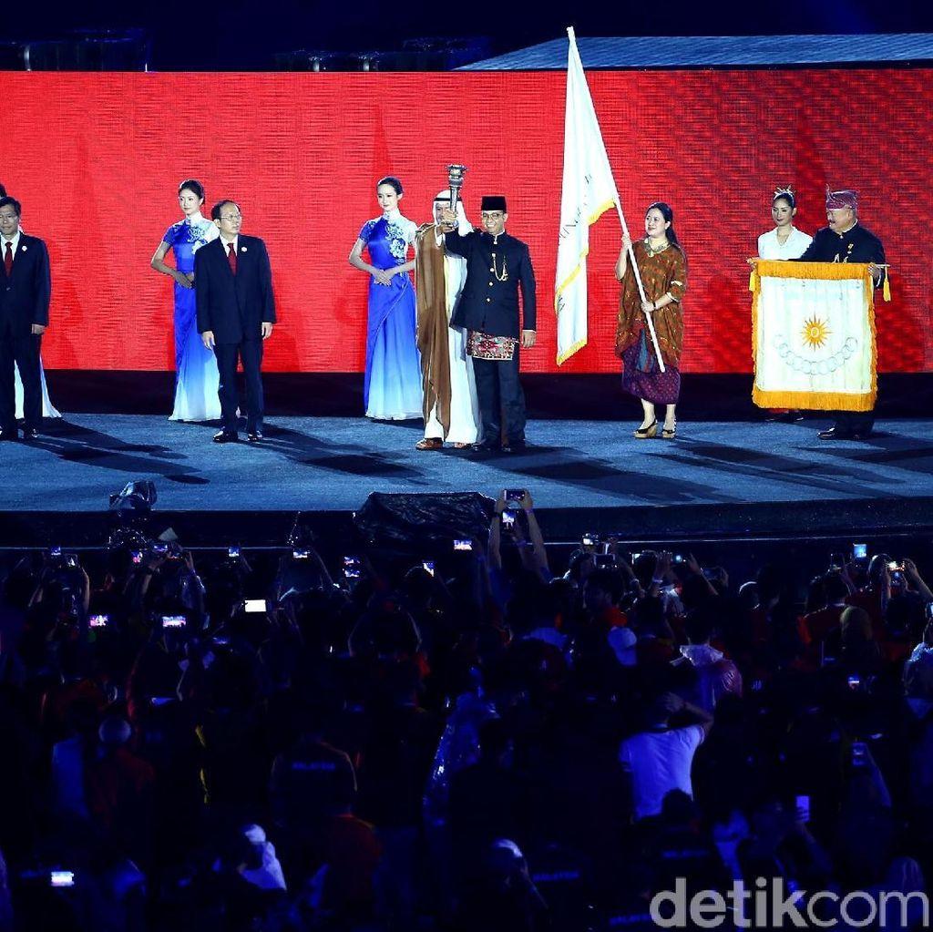 China Terima Obor untuk Asian Games 2022