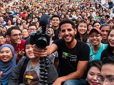 Ditolak Masuk Indonesia, Vlogger Nas Daily Sudah Keliling Dunia