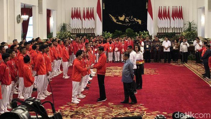 Jokowi beri bonus ke atlet Asian Games (Jordan/detikSport)