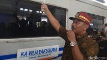 KA Wijaya Kusuma Rute Banyuwangi-Cilacap Diluncurkan