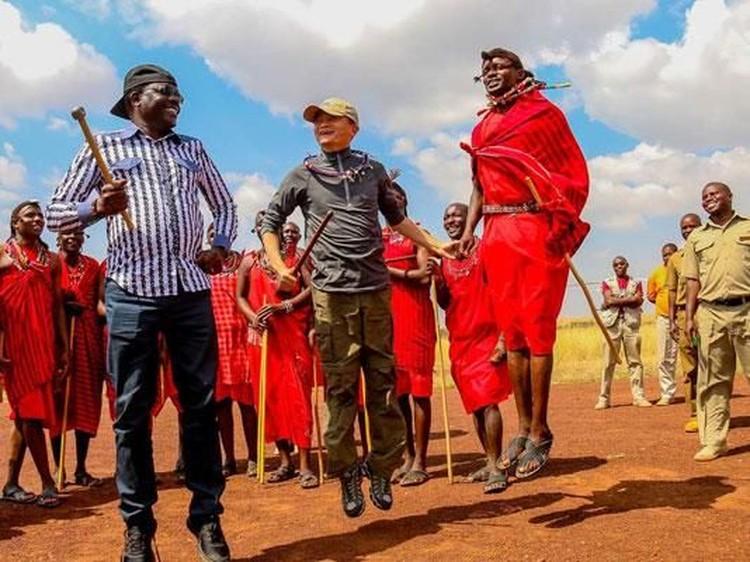 Momen Jack Ma di Afrika