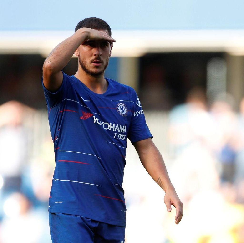 Sarri: Hazard Tak Perlu ke Spanyol untuk Ballon dOr, di Chelsea pun Bisa