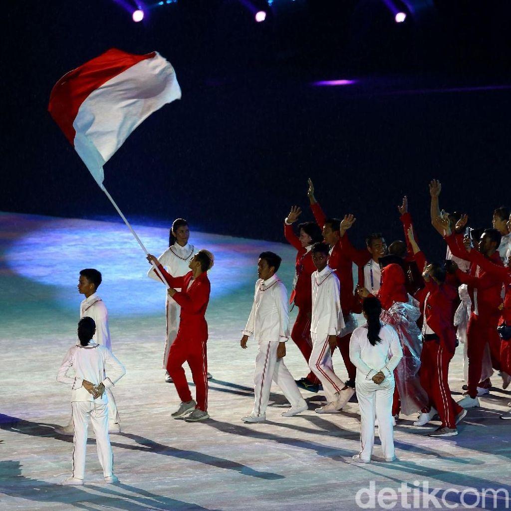 Suasana Kemeriahan di Closing Asian Games 2018