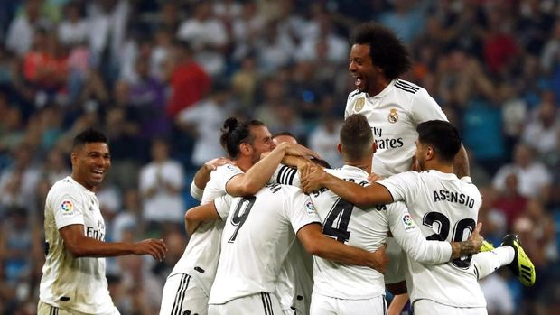 Sergio Ramos tetap optimistis meskipun Real Madrid kini tanpa Cristiano Ronaldo dan Zinedine Zidane.