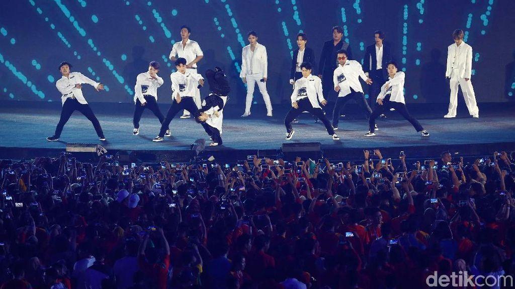 Konser Berakhir Haru, Super Junior Janji akan Segera Kembali