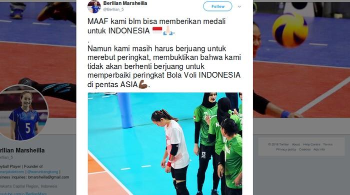 Atlet Kalah Perlukah Minta Maaf