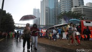 Dear Warga DKI, Waspadai Kilat dan Hujan dengan Intensitas Tinggi