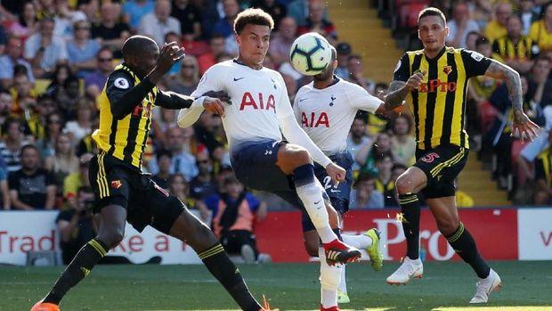 Tottenham Hotpsur menyerah di markas Watford City.