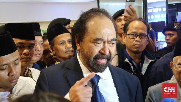 Bertemu Surya Paloh, Cak Imin Bantah Bahas Kursi Ketua MPR