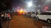 Penutupan Asian Games Usai, Jalan Jenderal Sudirman Macet