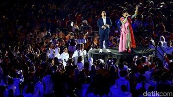 Deretan Musisi di Closing Asian Games 2018