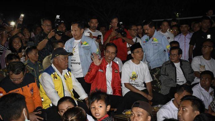Presiden Jokowi nonton bareng Closing Ceremony Asian Games 2018 (ANTARA FOTO/Ahmad Subaidi)